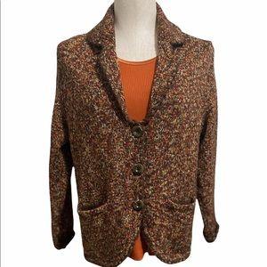 🍂Ladies ALLISON DALEY Marbled Knit Cardigan & Top